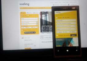 vueling windows phone