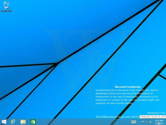 FIltración Windows 8.1 Update