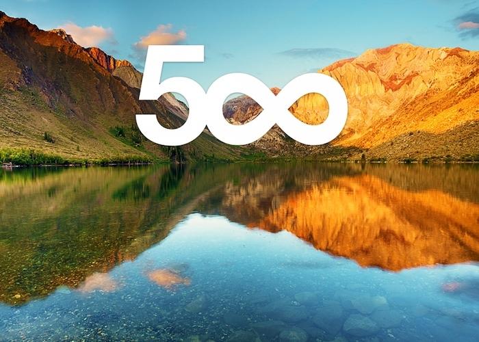 500px title