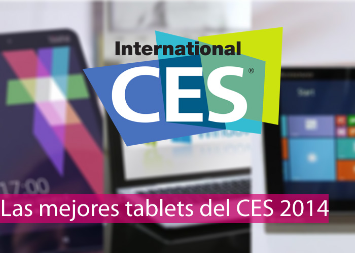 Mejores tablets con Windows 8 del CES 2014