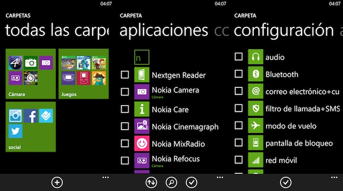 Carpeta de aplicaciones 3