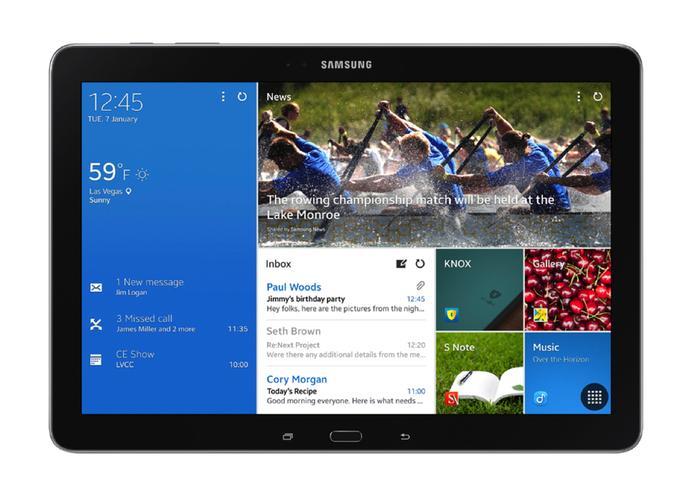 Interfaz Samsung  Magazine UX