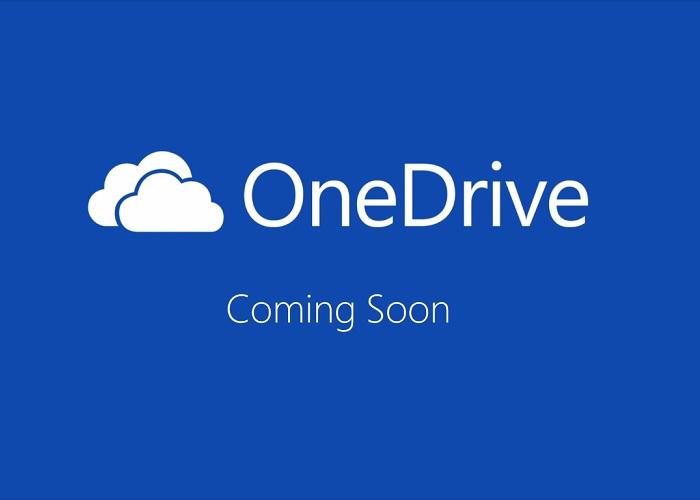 Nuevo anuncio de OneDrive