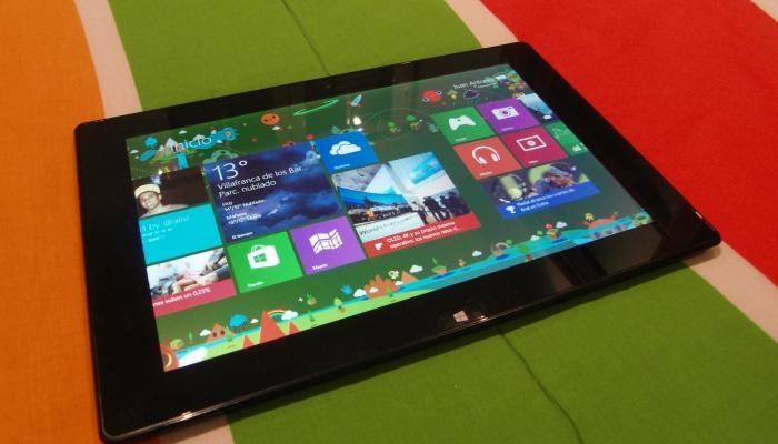 Primera tablet bq con Windows 8