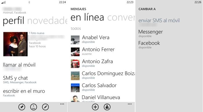 chat windows phone