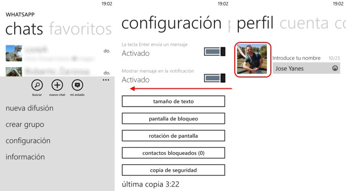 foto peril whatsapp windows phone