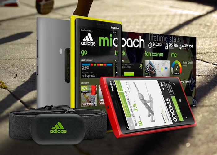Consistente Abierto pub  Adidas miCoach se integra al sensor de movimiento de Lumia