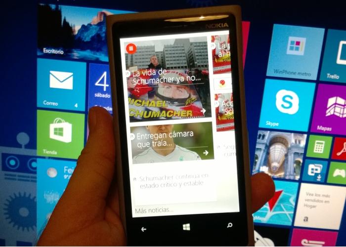 noticias espn f1 windows phone 8