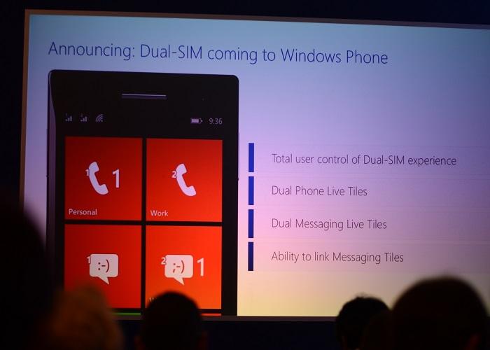 Dula-sim Windows Phone