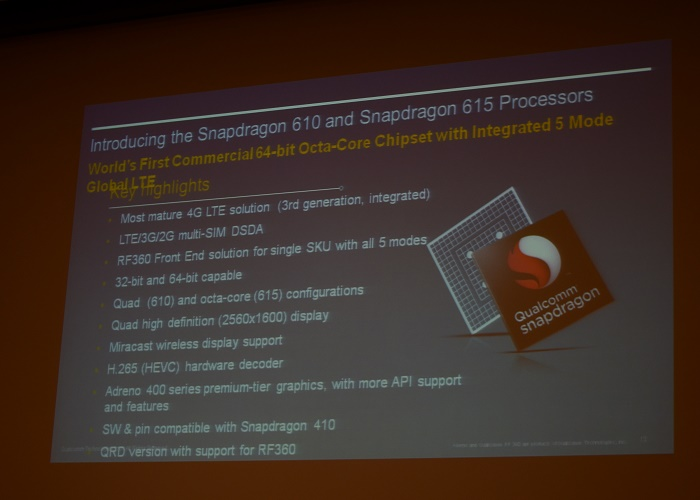 Familia Qualcomm Snapdragon 600