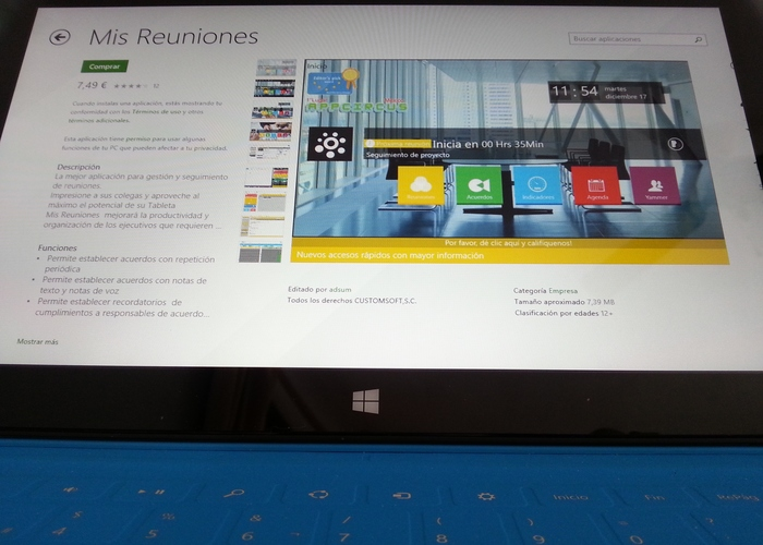 Mis Reuniones-Windows-8-RT