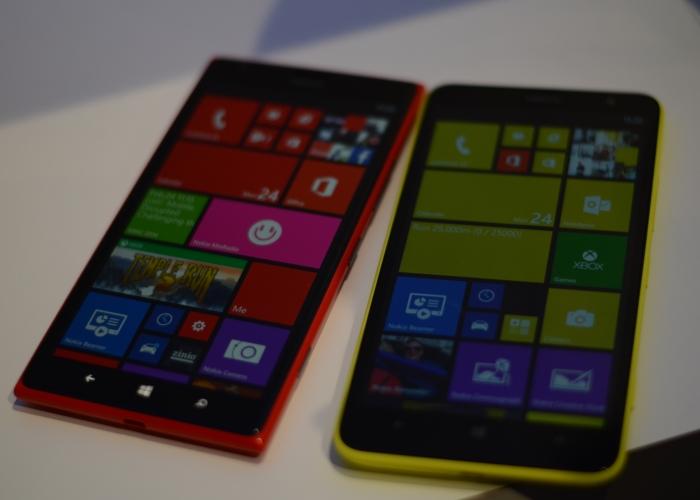 Nokia Lumia 1320 y 1520