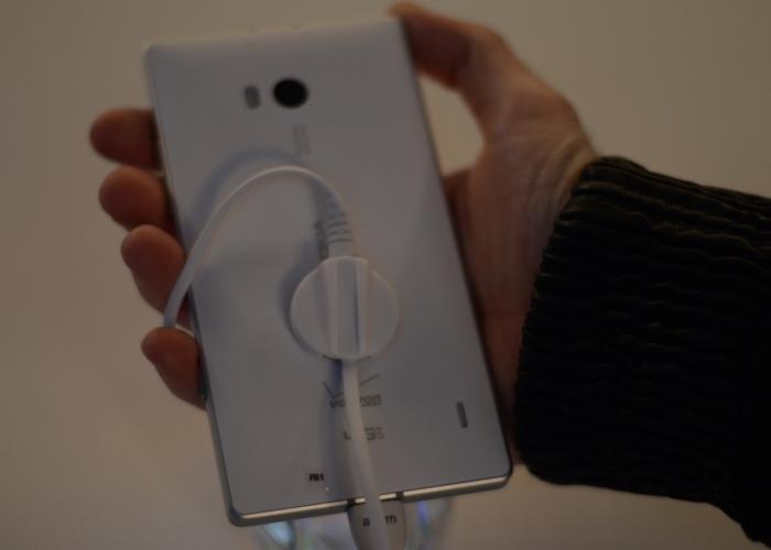 Parte trasera Nokia Lumia Icon
