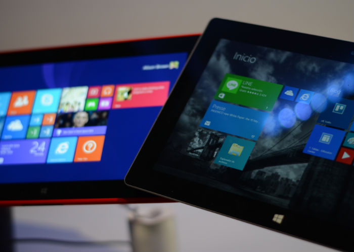 Surface 2 y Nokia Lumia 2520