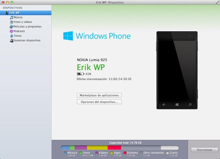 Windows Phone mac