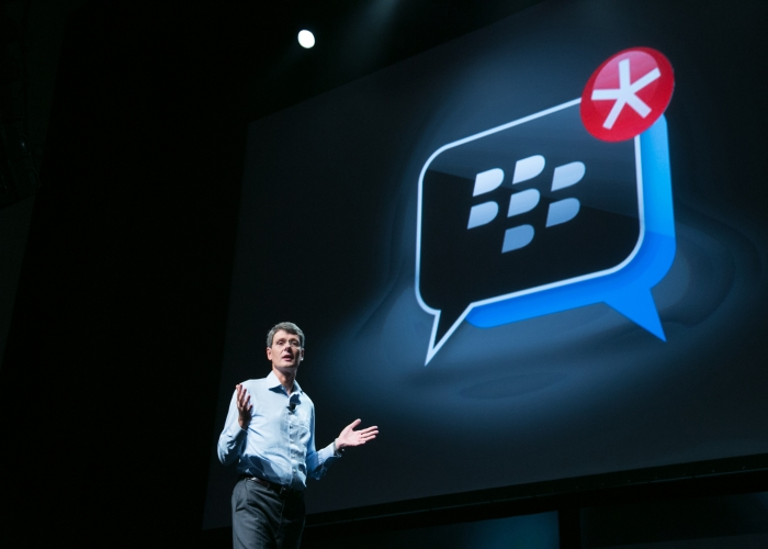 Aplicación mensajería BBM