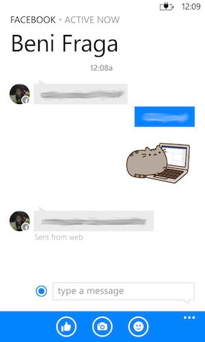 Chat Facebook Messenger
