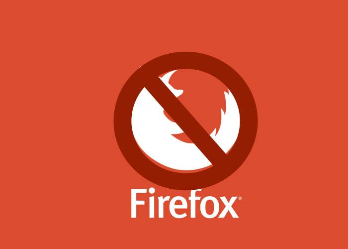 Proyecto Firefox Metro, cancelado