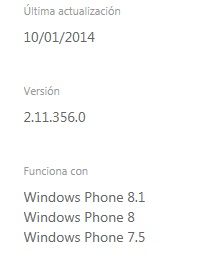 Funciona Windows Phone 8.1