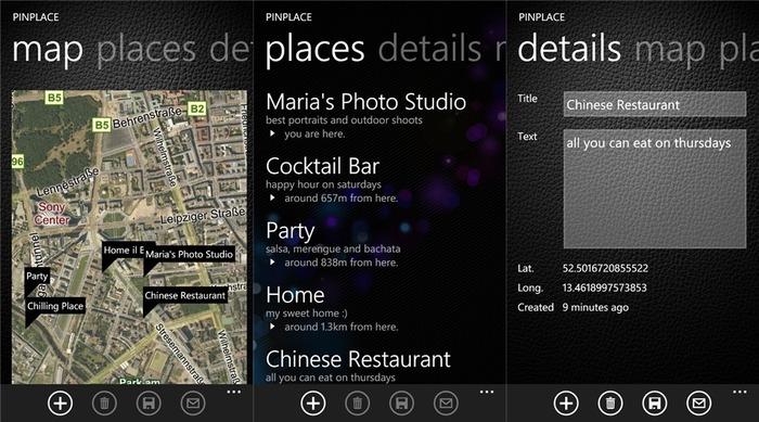 PinPlace-Windows-Phone