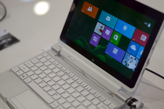 Teclado Acer Iconia W5