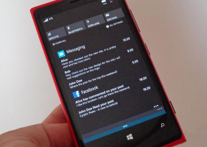 Lumia con WP8.1