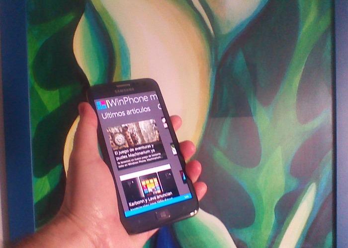 WinPhone-metro-aplicación