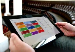 Tableta con Firefox Metro