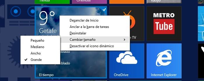 gestion menu inicio raton windows 8.1 update 1