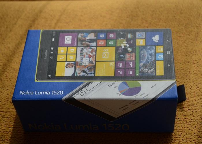 Nokia Lumia 1520 caja
