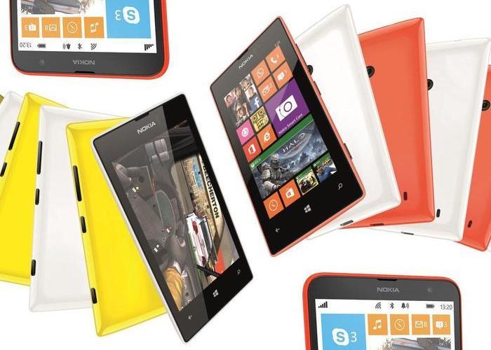 Nokia Lumia 525 y 1320