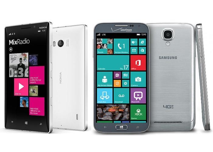 Nokia Lumia 930 Samsung ATIV SE