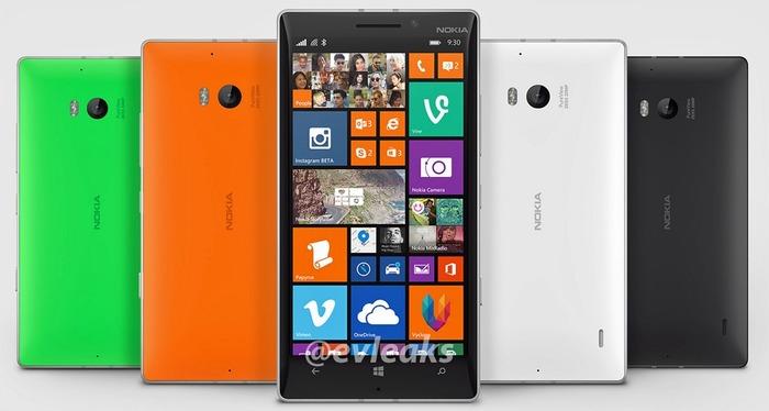 Nokia Lumia 930 colores