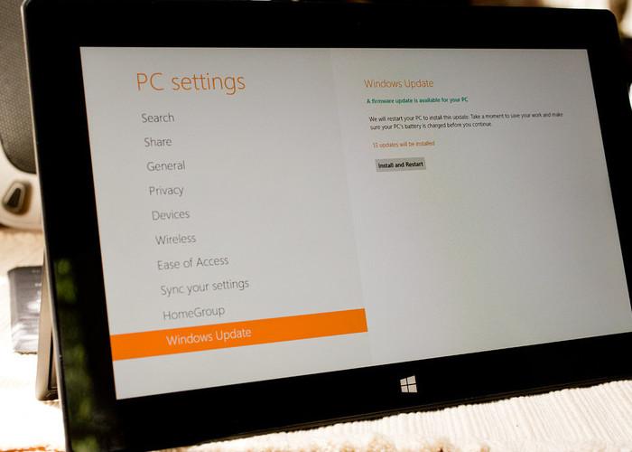 Surface Windows Update