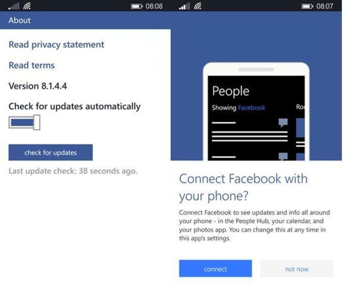 facebook 8.1