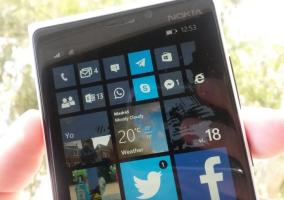tiles pequeños Windows Phone 8.1 preview