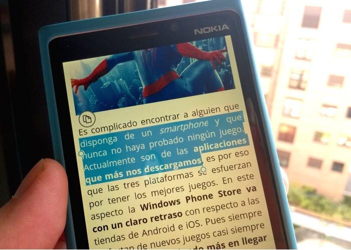 utilizar portapapeles windows phone