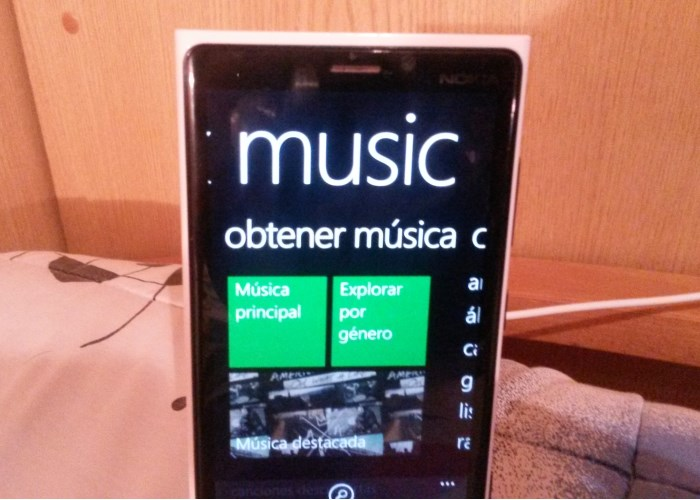 xbox music windows phone 8.1