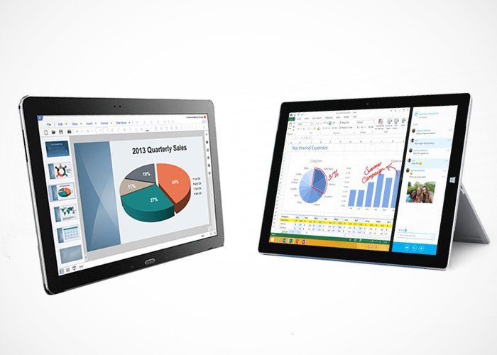 Comparacion Note Pro y Surface 3