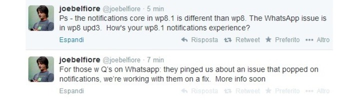 WhatsApp-Joe-Belfiore