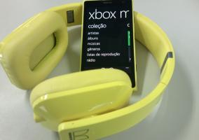 Aplicación música Windows Phone