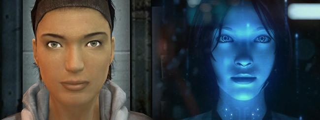 Alyx y Cortana