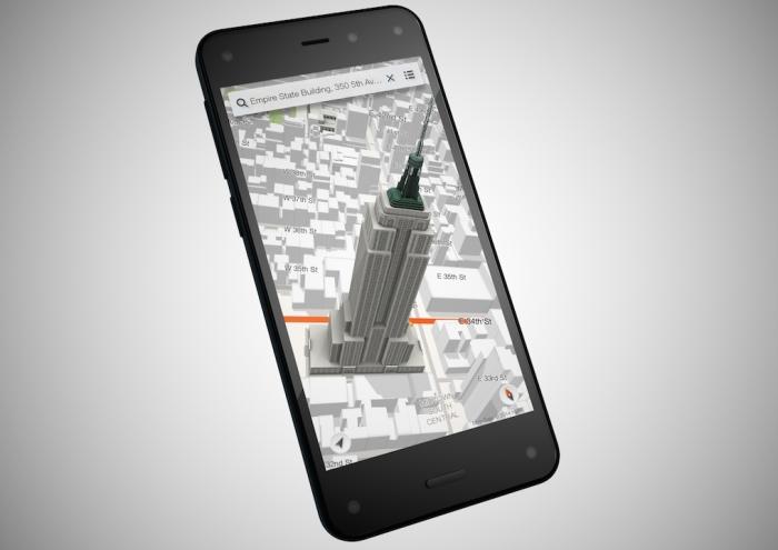 Amazon Fire Phone Maps