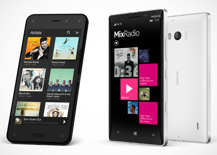 Enfrentamos Amazon Fire Phone frente al Nokia Lumia 930