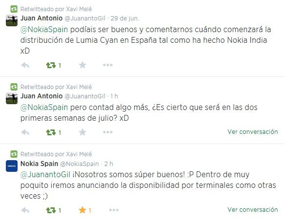 Juan Antonio Nokia