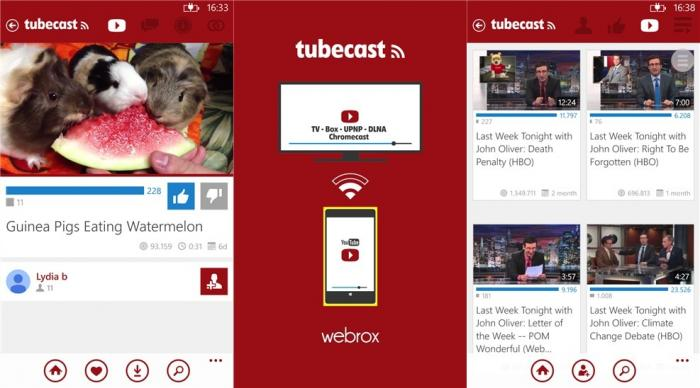 TubeCast-captura