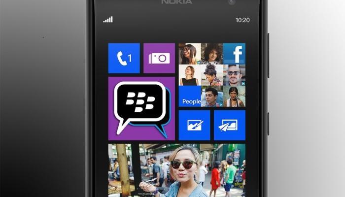 Aplicación de mensajería de BlackBerry