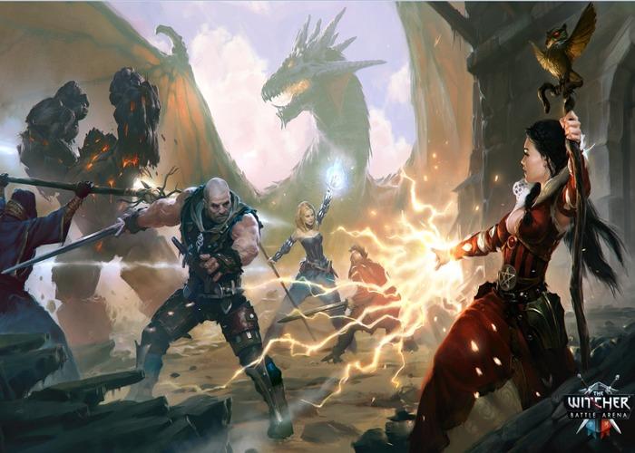 The Witcher-Battle-Arena-captura