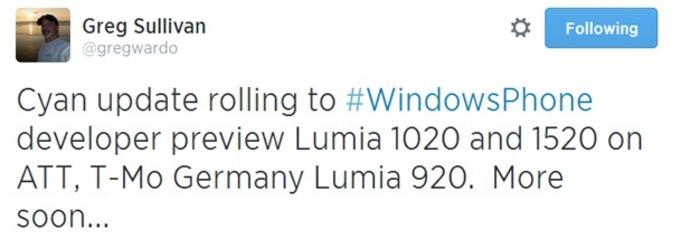 Actualizacion Preview a Lumia Cyan