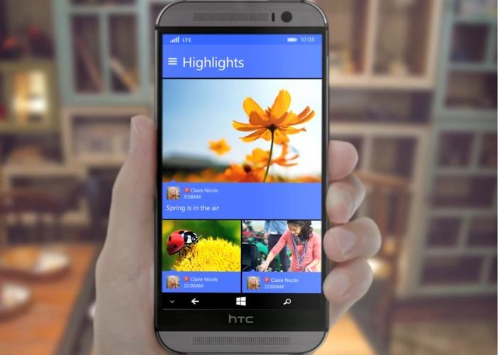 HTC One M8 for Windows cabecera 1
